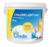 Chlore Lent 5kg - Desinfection - Ocedis